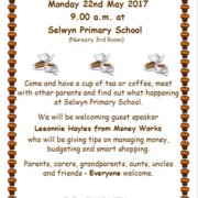 Coffee morning - poster with additional details