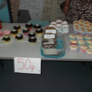 Our Macmillian cake sale