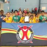 Deaf and hearing impaired boccia competition